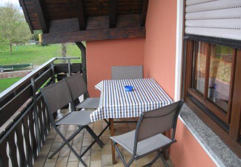 Gästehaus Abendsonne: Balkon