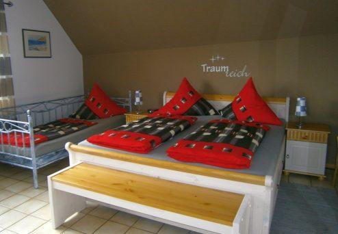 Gästehaus Abendsonne: Fünfbettzimmer mit…