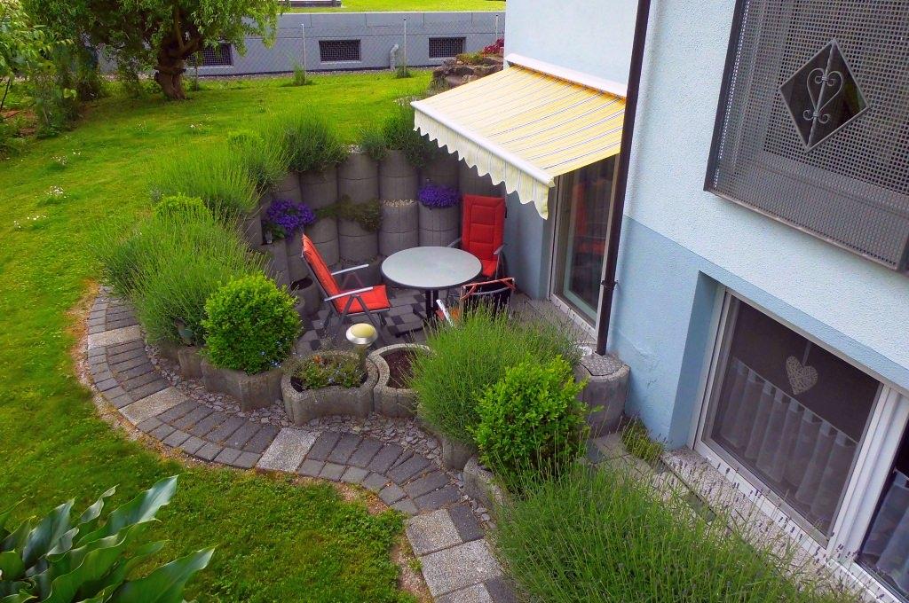Ferienwohnung Ambiente: Terrasse
