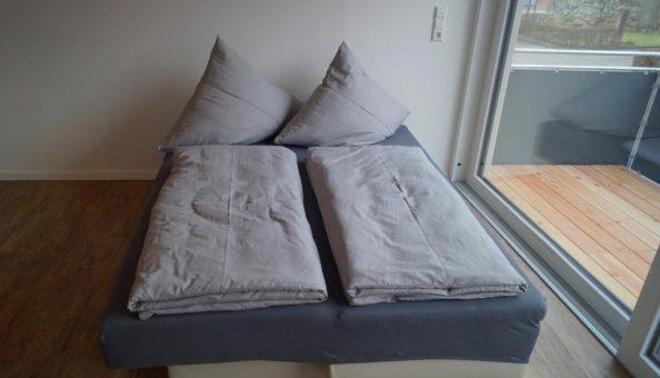 Ferienwohnung Scheune: Schlafcouch (Wohnküche)