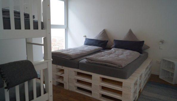 Ferienwohnung Scheune: Schlafzimmer