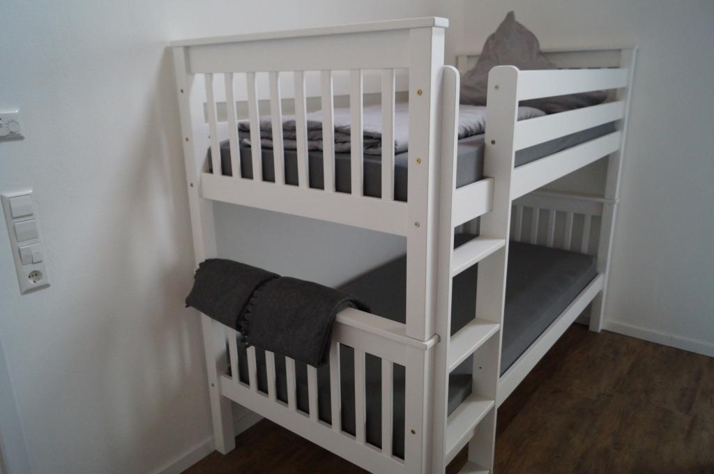 Ferienwohnung Scheune: Etagenbett (Schlafzimmer)
