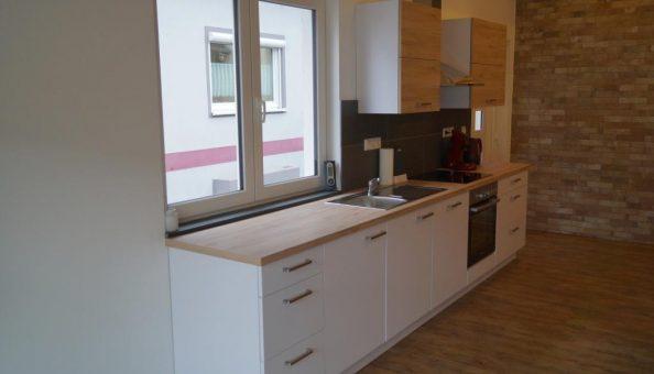 Ferienwohnung Scheune: Küche (Wohnküche)