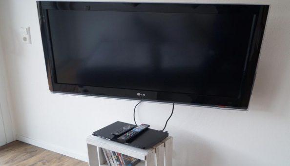 Ferienwohnung Scheune: Flachbild-TV (Wohnküche)