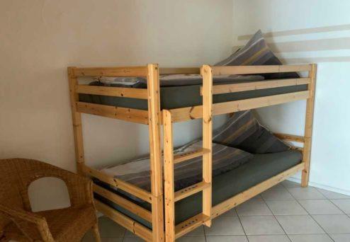 Ferienwohnung Ambiente: … Etagenbett